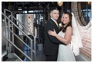 Seacrets Distillery Wedding Bride and Groom