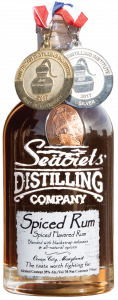 Seacrets Distilling company spiced rum
