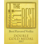 Thefiftybest Flavored Vodka Doublegoldmedal Transparent