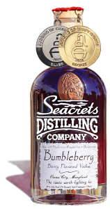 Bumbleberry Vodka 750ml Medals Shadow