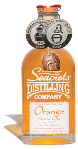 Orange Vodka 750ml Medals Shadow