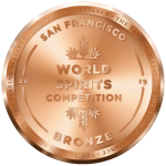 San Francisco World Spirits Competition 2019 Bronze