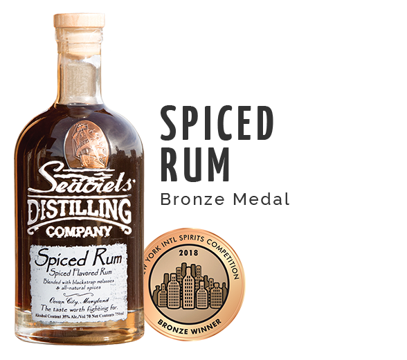 Spiced Rum - Bronze Medal