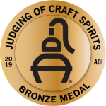 2019 Judging of Craft Spirits Medal 4bronze