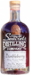 Bottle of Seacrets Bumbleberry Vodka