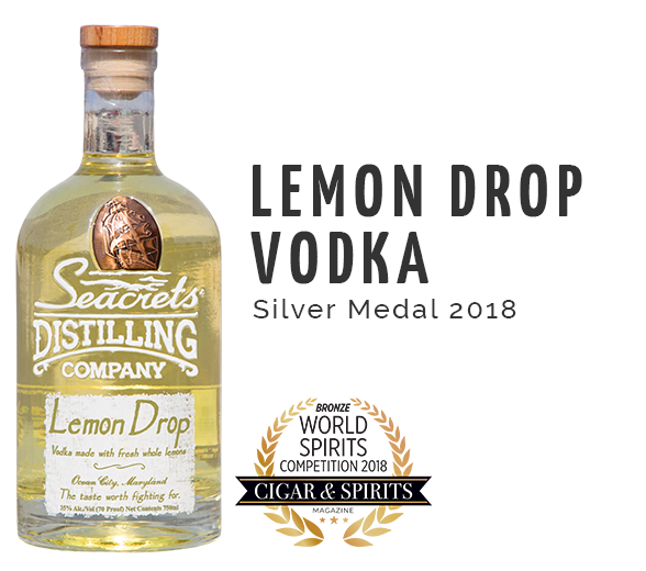Orange Vodka Class - Silver Medal 2018