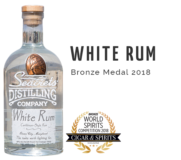 Spiced Rum C&S Award - Bronze Medal 2018