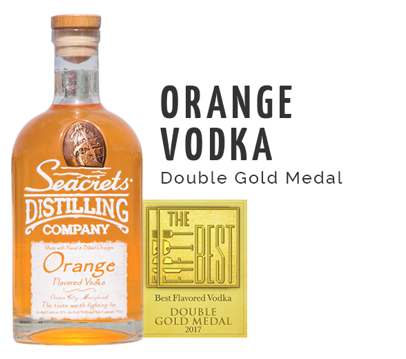 Orange Vodka Award - Double Gold Medal