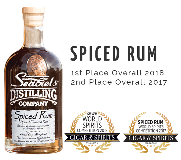 Spiced Rum C&S Award - 1st Place Overall
