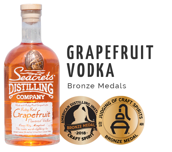 Grapefruit Vodka Award