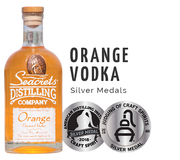 Orange Vodka Silver Award