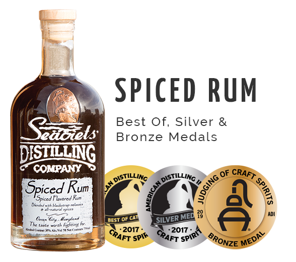 Spiced Rum - Best of Silver and Bronze Medal