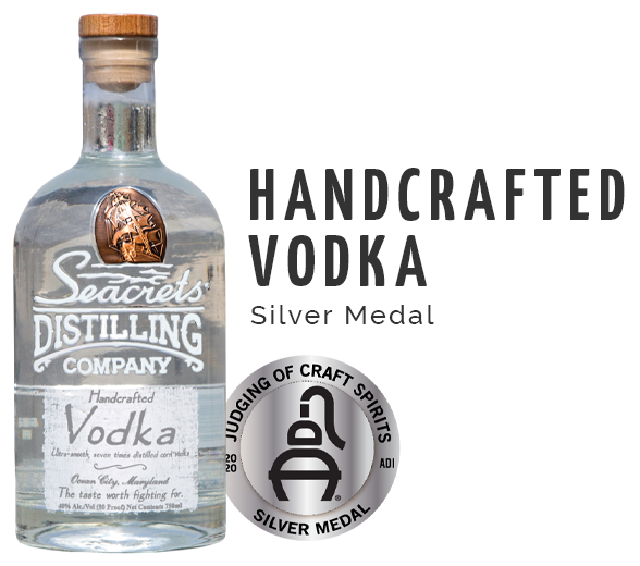 Handcrafted Vodka - Silver Medal