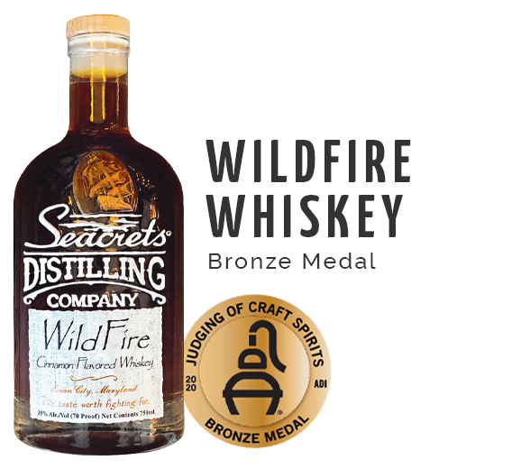 Wild Fire Whiskey - Bronze Medal